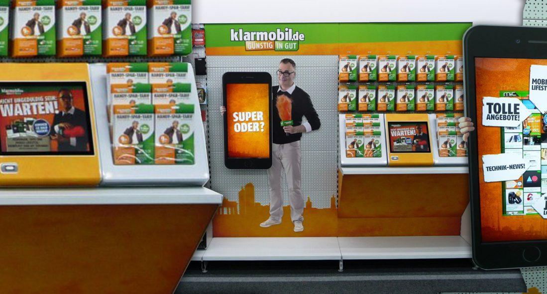Displays und Shop-In-Shop